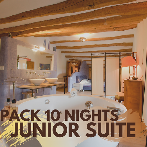 Pack 10 nights Junior Suite with private jacuzzi