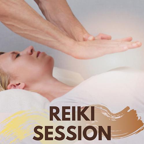 Reiki session!