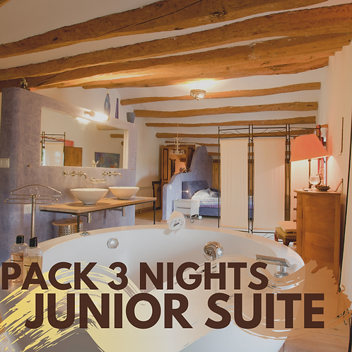 Pack 3 nights Junior Suite with private jacuzzi