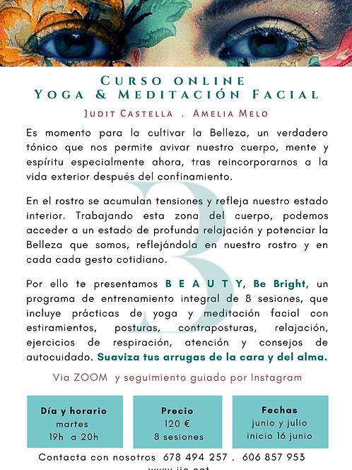 Curso online yoga y meditacion facial