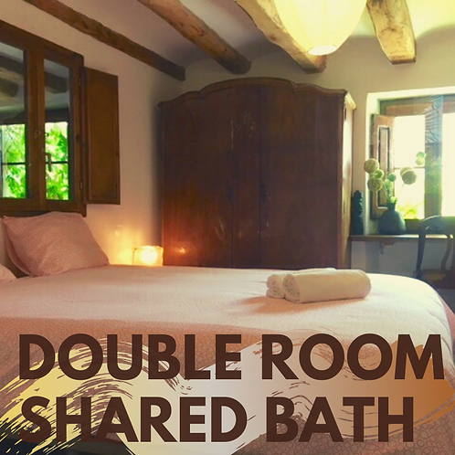 One night Double-room shared bath