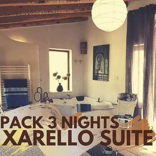 Pack 3 nights Xarello Suite with private jacuzzi
