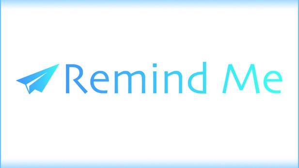 RemindMe 忘備録アプリ。劇的に効果のあるリマインダーです。