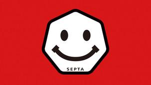 SEPTA フィジカルな「いいね」の手渡し活動です。