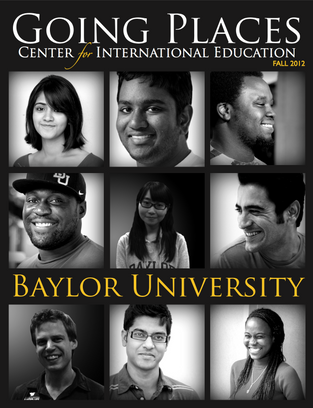 I creative directed this issue of Baylor University's Center for International Education bi-annual publication. This included the design of the cover, the layout standard for the inside pages and some of the photography. I also contributed two interview articles.