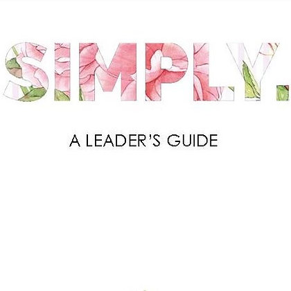 Simply. Leader's Guide