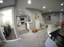 Basement & Laundry Room
