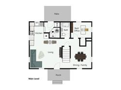 Main Level Floorplan