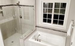 Separate Shower & Soaking Tub
