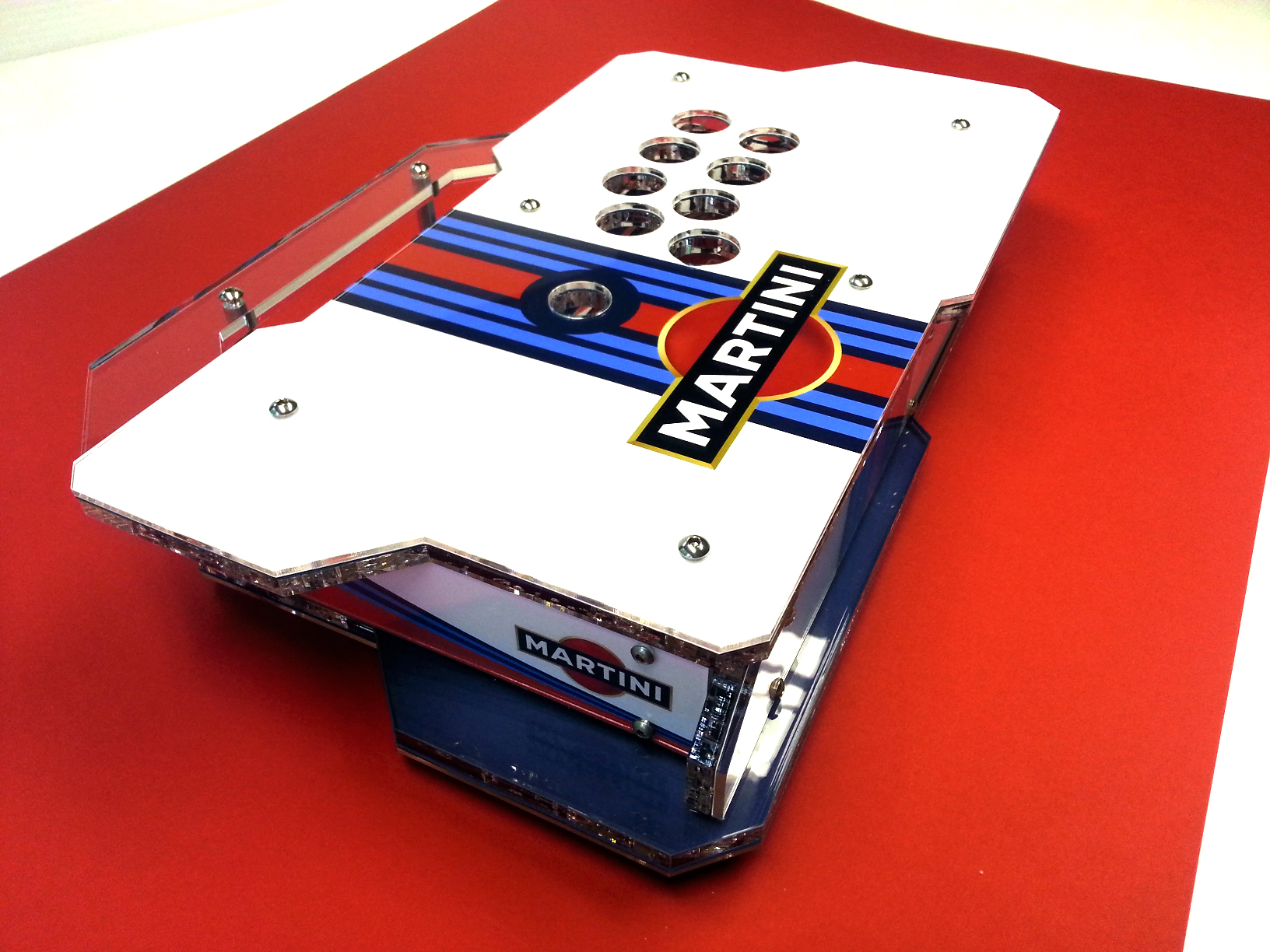 Martini Racing X1 Custom Arcade Stick 1a.jpg