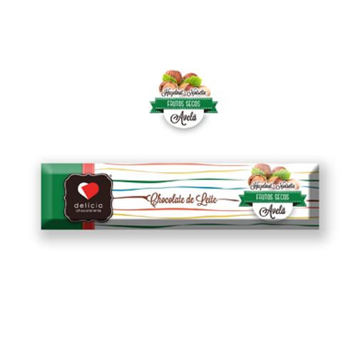 Barrita de Chocolate de Leite com Avelã