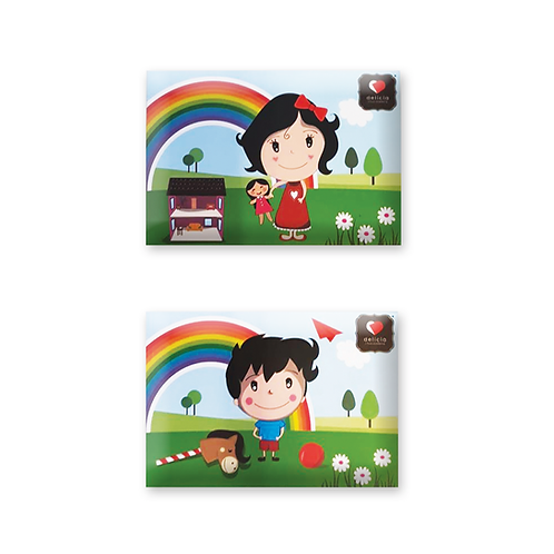 """Envelope Ilustrado """"Dia da Criança"""""""