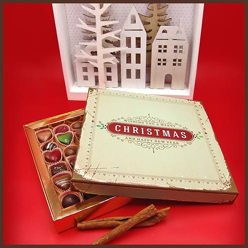 Caixa Retro Christmas