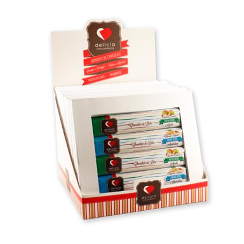 Caixa c/ 4 Barritas Chocolate com Frutos Secos