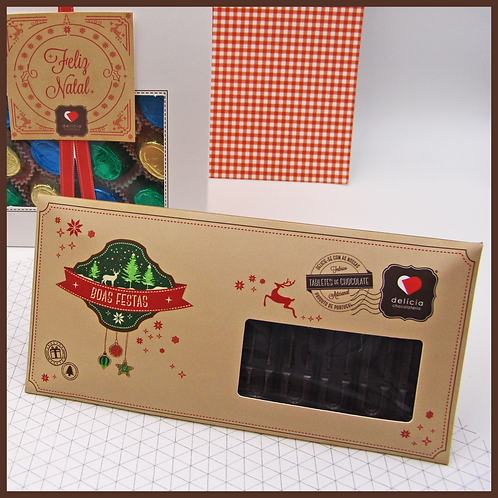 "Tablete de Chocolate ""Vintage"""