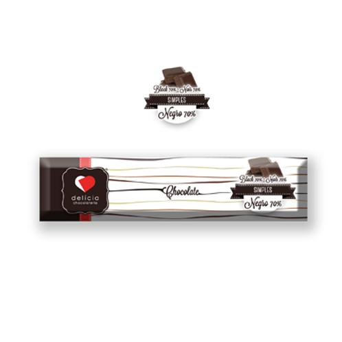 Barrita de Chocolate Negro 70%