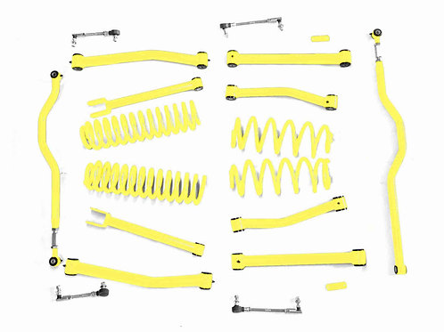 Steinjäger Lift Kit Wrangler JK 2007-2018 4 Inch Neon Yellow