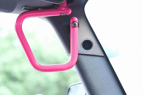 Grab Handle Kit, Jeep JK Front, Rigid Wire Form, Hot Pink