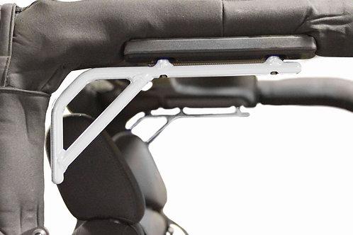 Grab Handle Kit, Jeep JK, Rear, Rigid Wire Form, Cloud White
