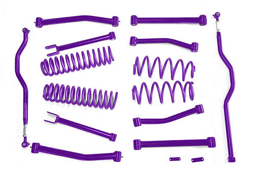 Steinjäger Lift Kit Wrangler JK 2007-2018 4 Inch Sinbad Purple