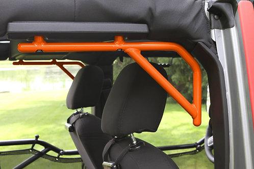 Grab Handle Kit, Jeep JK Rear, 4 Door Rigid Wire Form, Fluorescent Orange