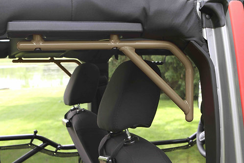 Grab Handle Kit, Jeep JK Rear, 4 Door Rigid Wire Form, Military Beige