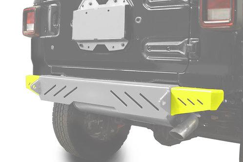 Wrangler JL 2018 to Present Bumper End Caps, Rear Cap Style Neon Yellow