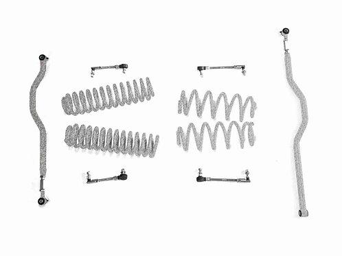 Steinjäger Lift Kit Wrangler JK 2007-2018 2.5 Inch Gray Hammertone