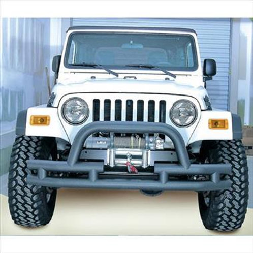 Dual Tube Front Winch Bumper with Center Hoop