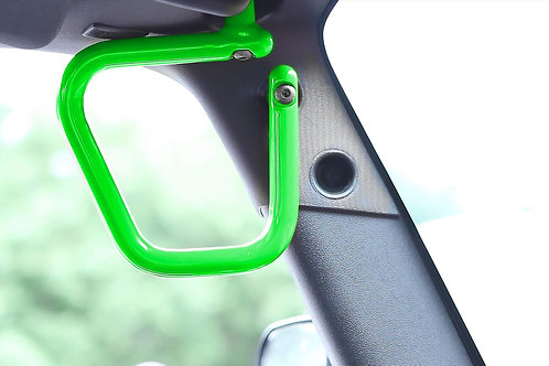 Grab Handle Kit, Jeep JK Front, Rigid Wire Form, Neon Green