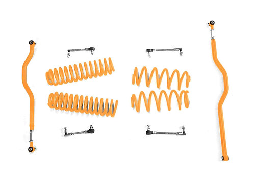 Steinjäger Lift Kit Wrangler JK 2007-2018 2.5 Inch Fluorescent Orange