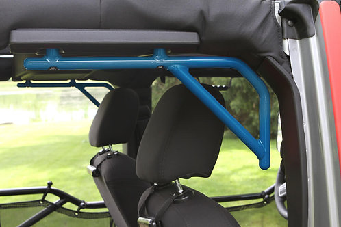 Grab Handle Kit, Jeep JK Rear, 4 Door Rigid Wire Form, Playboy Blue