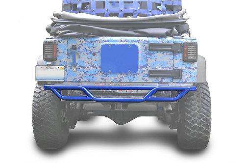 Steinjäger Bumpers Wrangler JK 2007-2018 Bumper, Rear, Tube Southwest Blue