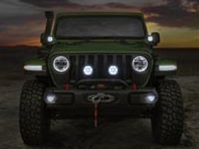 Jeep LED Fog Light Kit with Mounting Brackets - 82215549