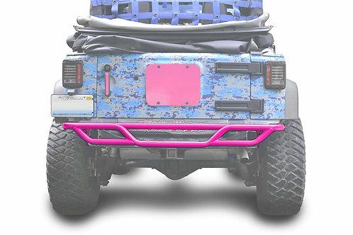 Steinjäger Bumpers Wrangler JK 2007-2018 Bumper, Rear, Tube Hot Pink