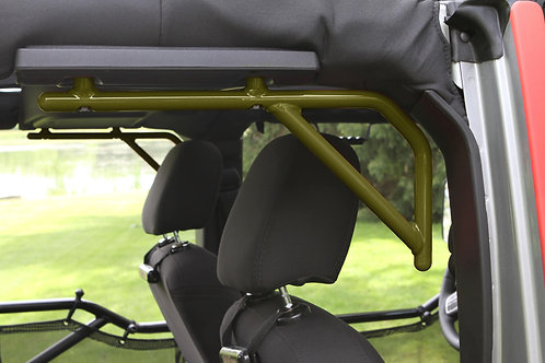 Grab Handle Kit, Jeep JK Rear, 4 Door Rigid Wire Form, Locas Green
