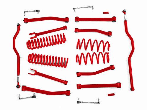 Steinjäger Lift Kit Wrangler JK 2007-2018 4 Inch Red Baron