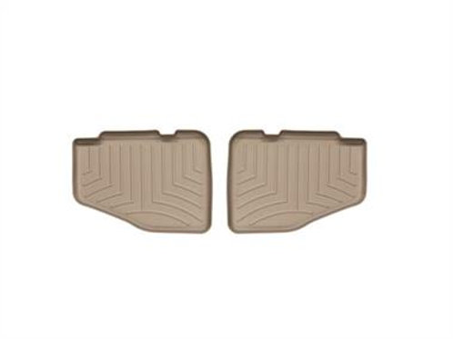 WeatherTech DigitalFit Rear Floor Liners (Tan)