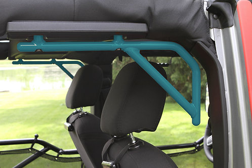 Grab Handle Kit, Jeep JKU Rear, 4 Door Rigid Wire Form, Teal