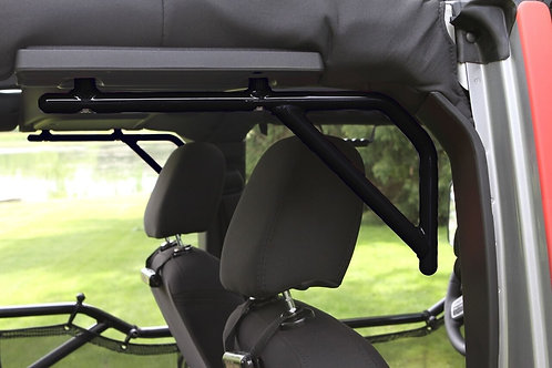 Grab Handle Kit, Jeep JK Rear, 4 Door Rigid Wire Form, Black