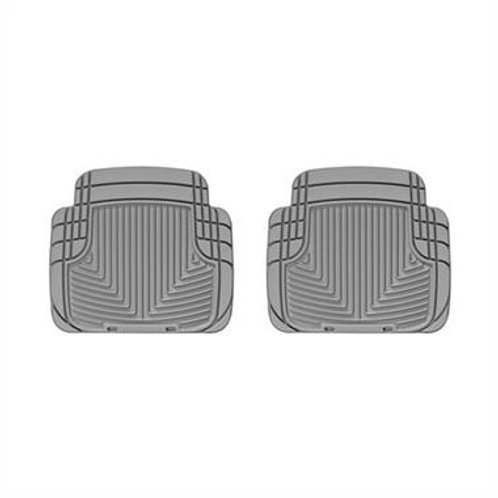 WeatherTech All Weather Rear Rubber Floor Mats (Gray) - W50GR