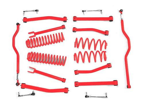 Steinjäger Lift Kit Wrangler JK 2007-2018 2.5 Inch Red Baron