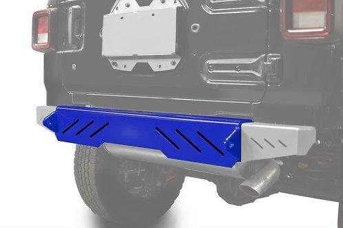 Wrangler JL 2018 to Present Bumper, Rear Cap Style Southwest Blue