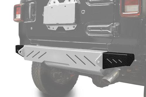 Wrangler JL 2018 to Present Bumper End Caps, Rear Cap Style Texturized Black