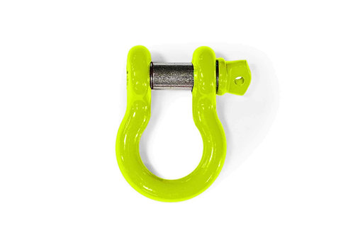 Steinjäger D-Ring Shackle Wrangler JL 2018 to Present Gecko Green 1 D-ring