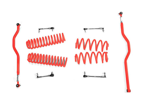 Steinjäger Lift Kit Wrangler JK 2007-2018 2.5 Inch Red Baron