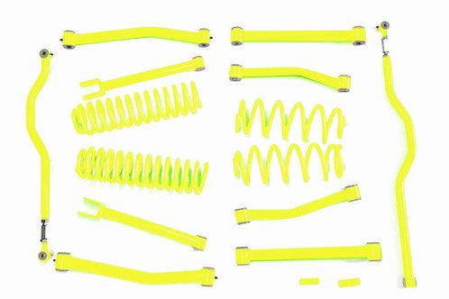 Steinjäger Lift Kit Wrangler JK 2007-2018 4 Inch Neon Yellow