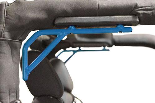 Grab Handle Kit, Jeep JK, Rear, Rigid Wire Form, Playboy Blue