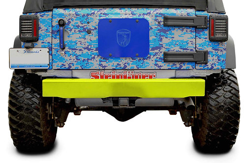 Steinjäger Bumpers Wrangler JK 2007-2018 Bumper, Rear Cap Style Neon Yellow