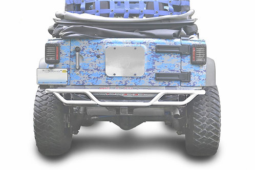 Steinjäger Bumpers Wrangler JK 2007-2018 Bumper, Rear, Tube Cloud White
